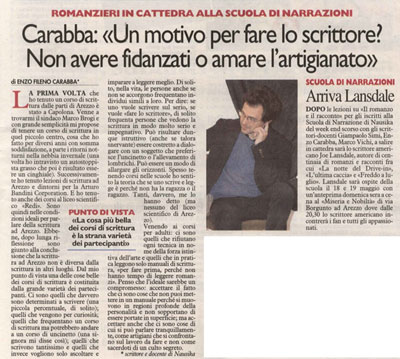 Intervista a Enzo Fileno Carabba